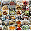 Gâteaux algériens spécial fêtes et succès/réussite - examens -et heureux événements
