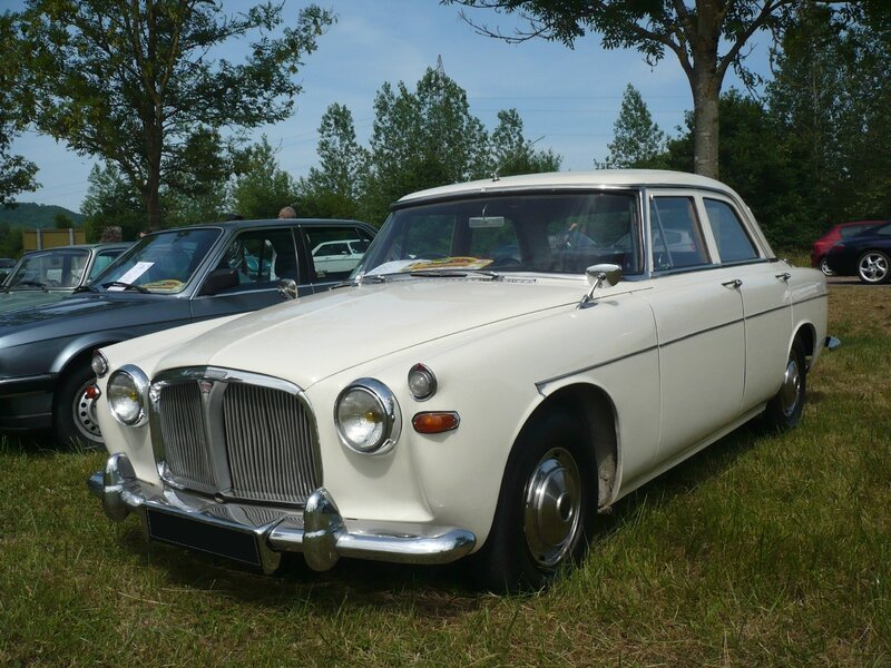 ROVER P5 3 Litre Saloon 1962 Madine (1)