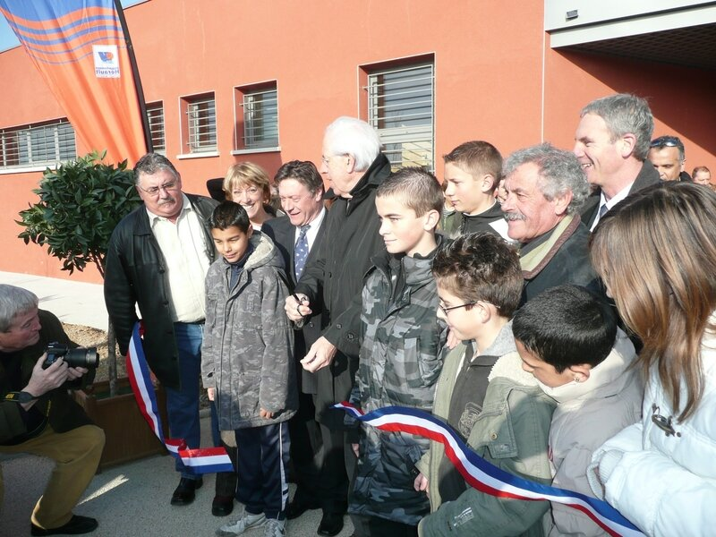Inauguration halle aux sports 010