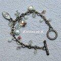 bracelet breloques métal