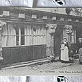Quimper - vieille maison de la rue du Gué-Odet