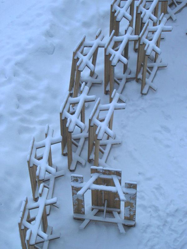 Retour sur la neige La Plagne