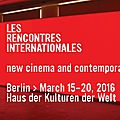 Les rencontres internationales - berlin