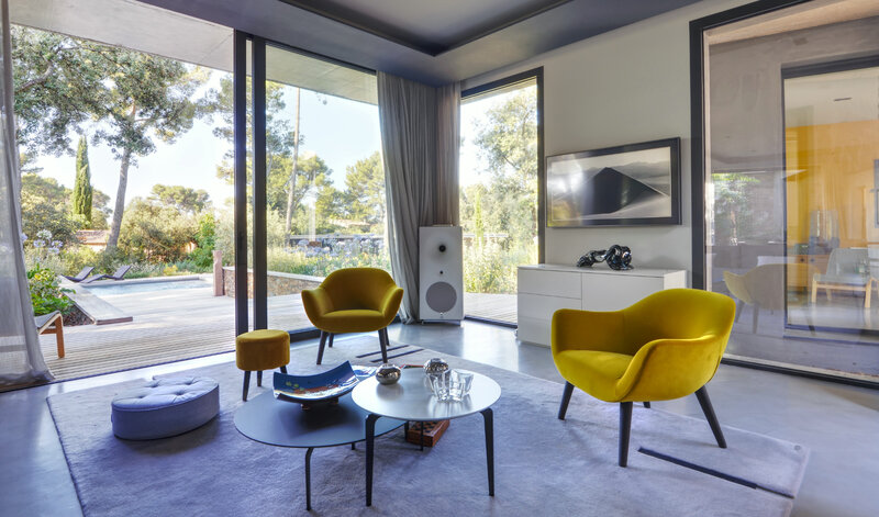 Architecte intérieur maison contemporaine Aix en Provence