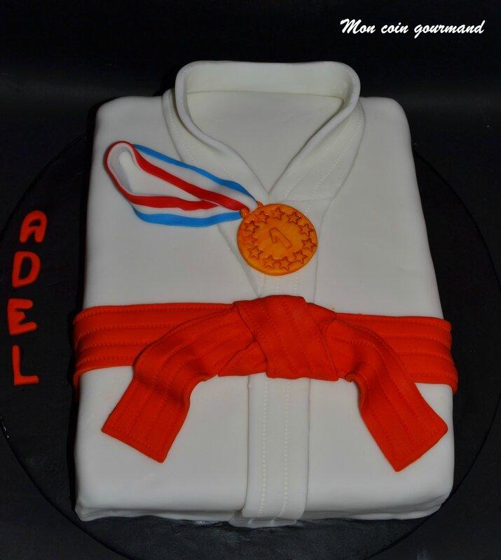 Gateau De Judo Pour Adel Mon Coin Gourmand