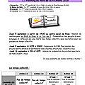 Plannings de charnècles (septembre - octobre)