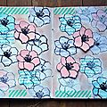 Semaine 7 -layering stamps