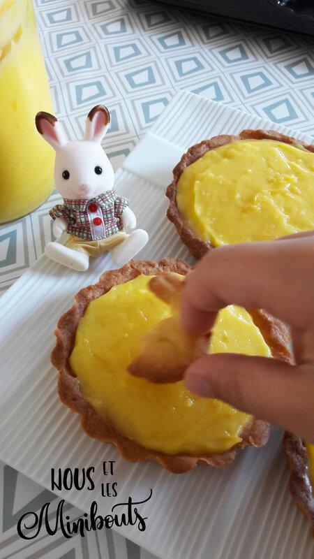 tarte citron sablés lapin