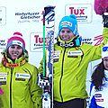 Podium Sprint Coupe du Monde Autriche 30/11/2013