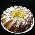 Cake vanillé au lait concentré sucré