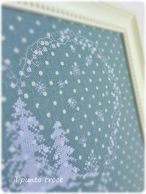 Dolce Nevicata - Parolin - il punto croce 2