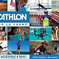 Faire du sport avec décathlon