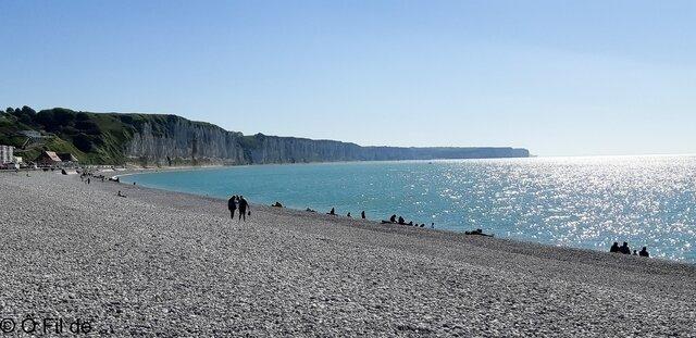 plage de Fécamp