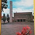 Dieuze - église Marie Madeleine datée 1972