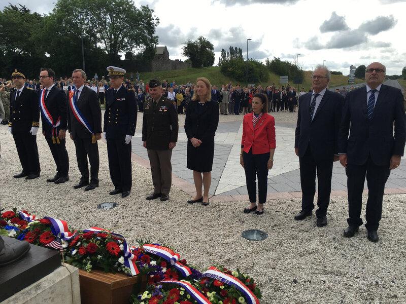 D-Day_D-Day75_DDay_DDay75_Bayeux_hommage_Eisenhower_5 juin 2019