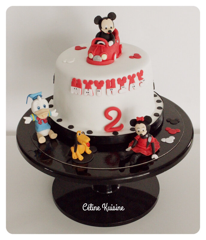 gateau mickey 2 bis