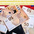 portefeuille magique magnétisé qui multiplie d'argent en euros: portefeuille magique avis, vrai portefeuille magique