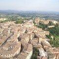 vue Sienne depuis la torre del Mangia 3