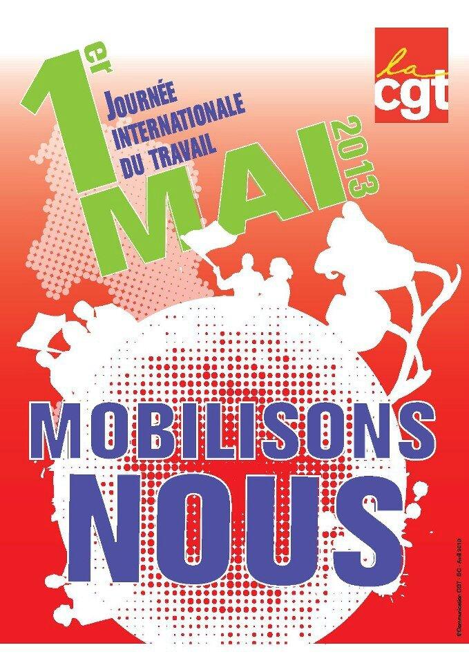 Affiche syndicalisation1er mai