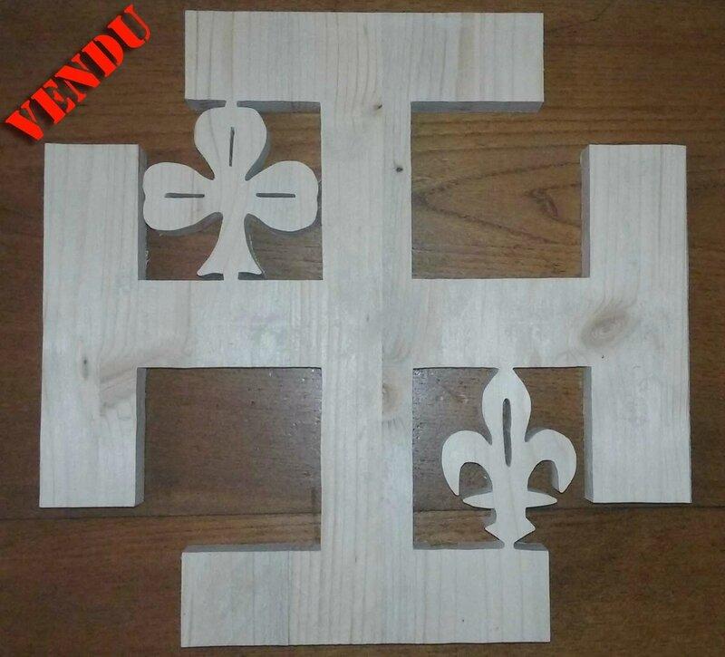 croix scoute 28x28 Paris