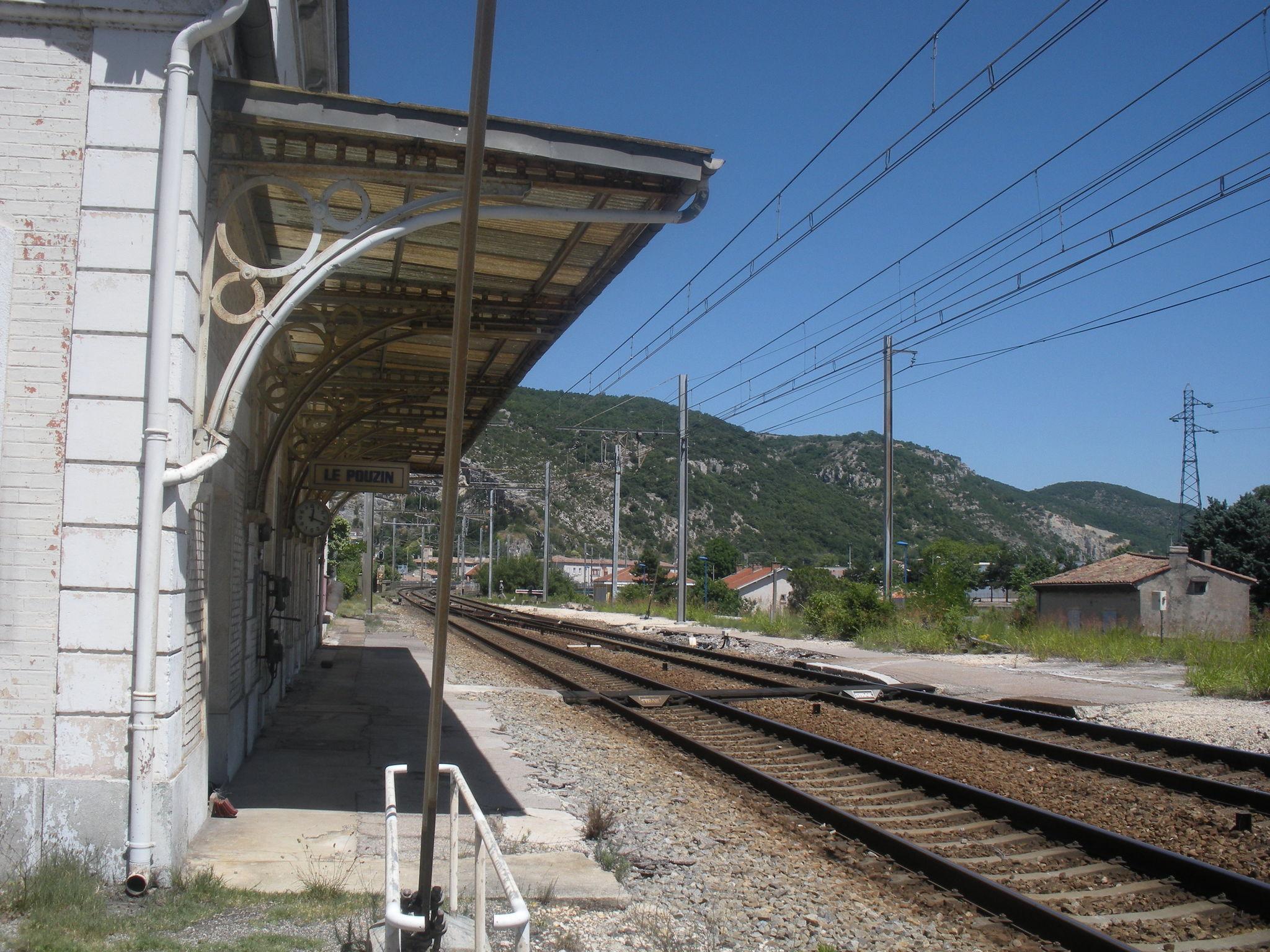 Le Pouzin (Ardèche) les voies