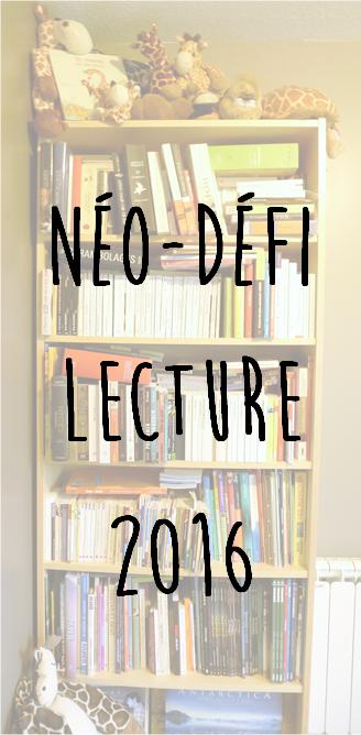 Néo-défi lecture 2016