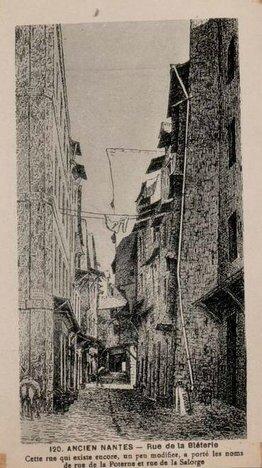 Ancien Nantes - Rue de la Bléterie