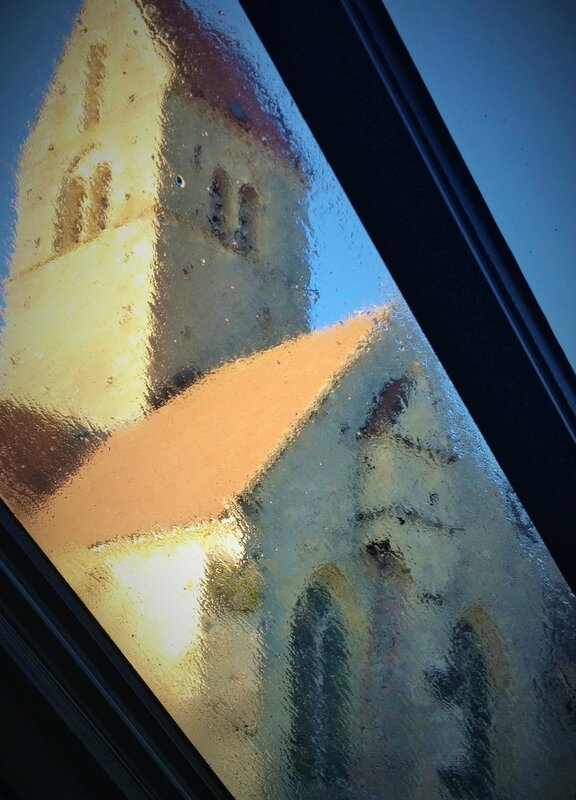 Le Clos de la Tourelle vue église Arcis