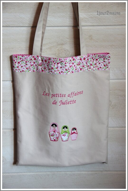 tote bag juliette matriockas