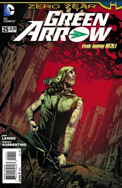 new 52 green arrow 25