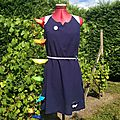 Robe Limpide HLW (taille 36) + guirlande papillons origami