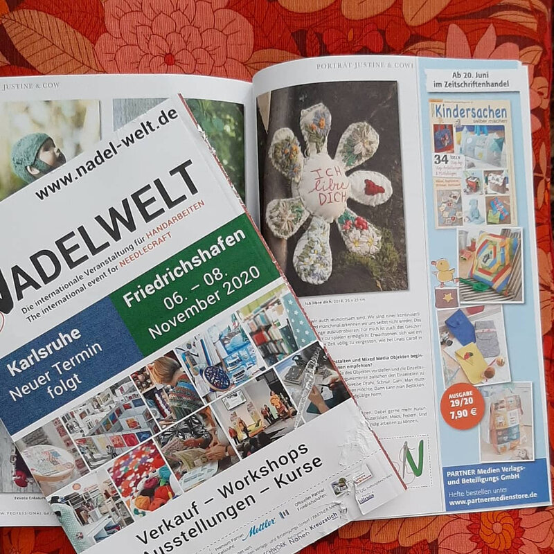 article justine and cow Patchwork