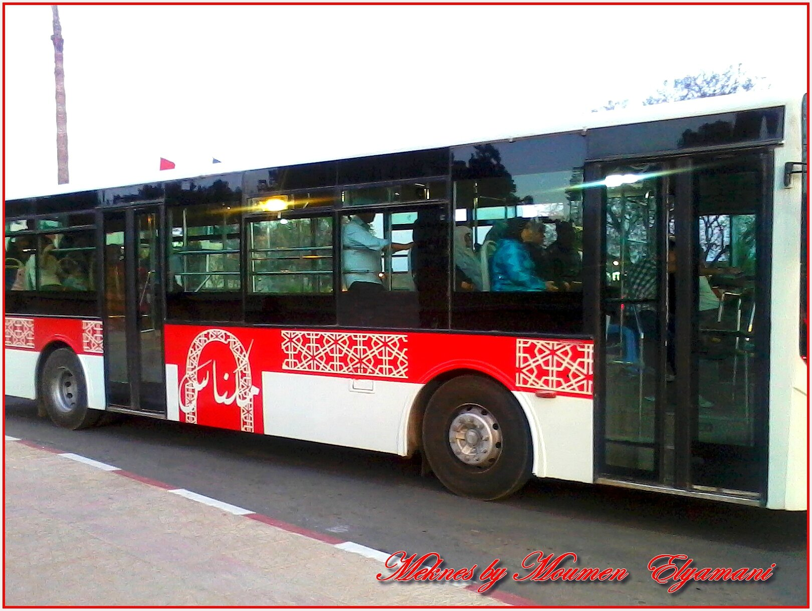 City bus Meknes