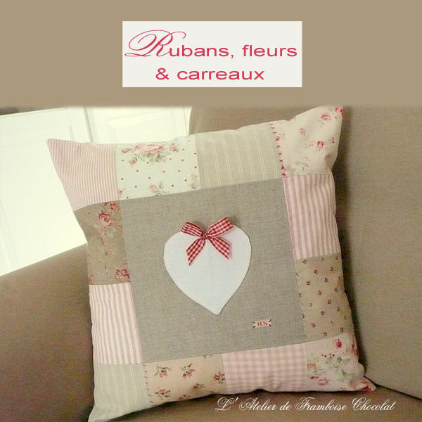 Coussin Patchwork...