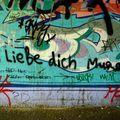 ich liebe dich graffitis
