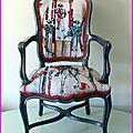 Corrida originale pour un fauteuil...
