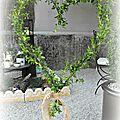 Des pots, des plantes, un cœur...