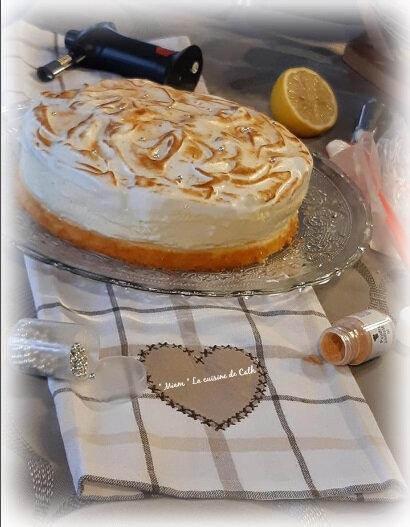 """ღ """" Miam """" Gâteau nuage au citron meringué"""