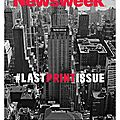 Newsweek, la fin du papier
