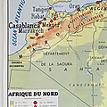 Collection ... carte afrique du nord / algerie