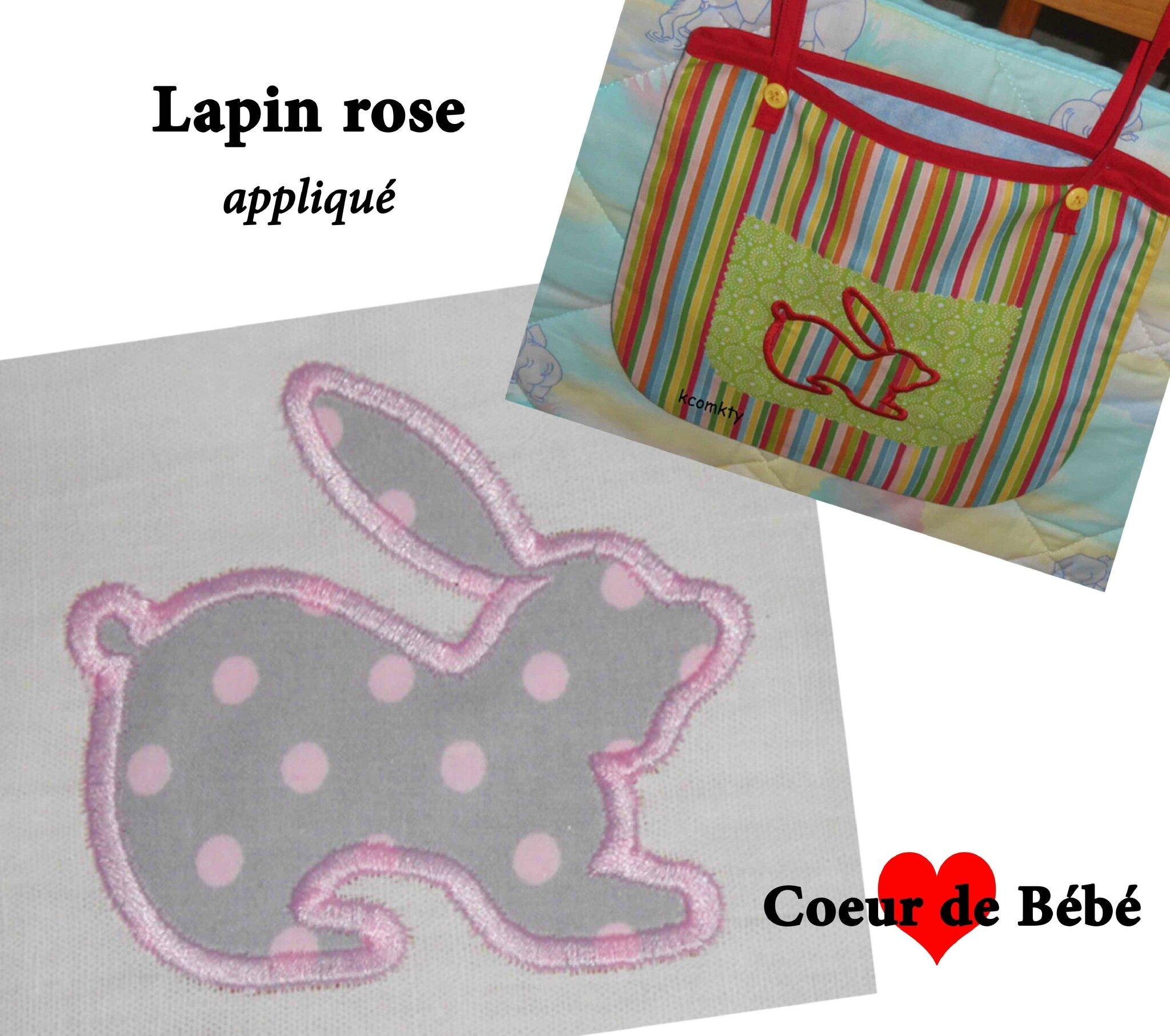 lapin rose 2