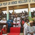Le 10 janvier, le jour de la fête national du vodoun au benin