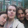 Avec Guillaume et Claire