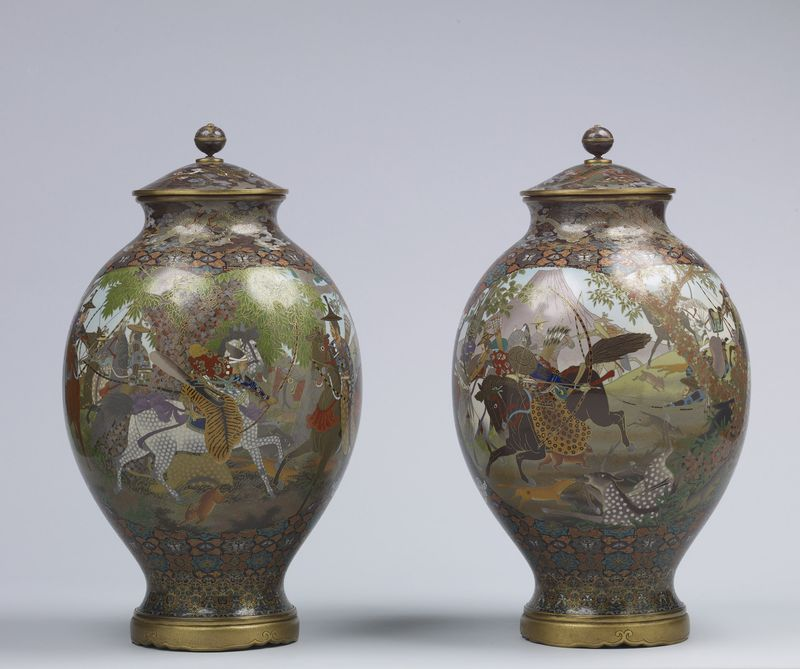 Japanese Cloisonn Enamels From The Stephen W Fisher Collection