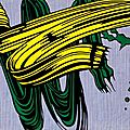 POP ART 1966_Yellow and Green_Roy Lichtenstein