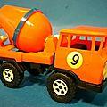Camion toupie beton type barreiros marque gutfer ref 303