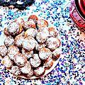 Beignets au chocolat - mardi gras!