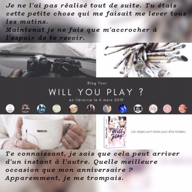 will you play