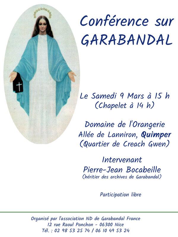 afficheconférence 2019garabandal
