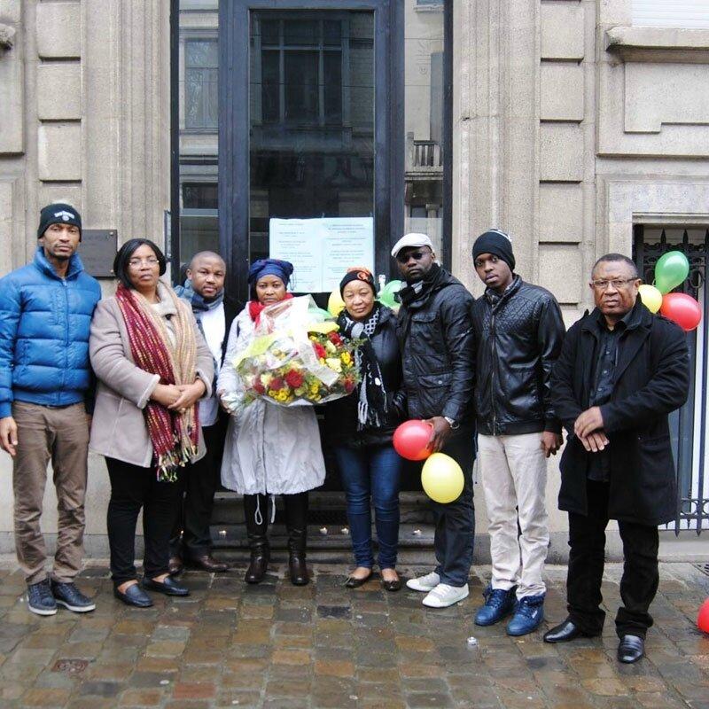Belgique: Des gerbes symboliques pour les martyrs de février 2008 au Cameroun